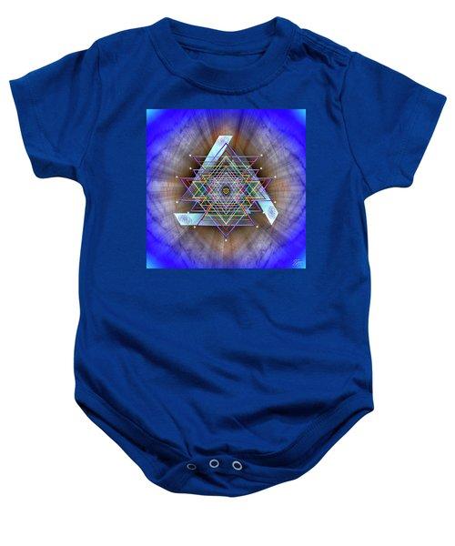 Sacred Geometry 717 Baby Onesie