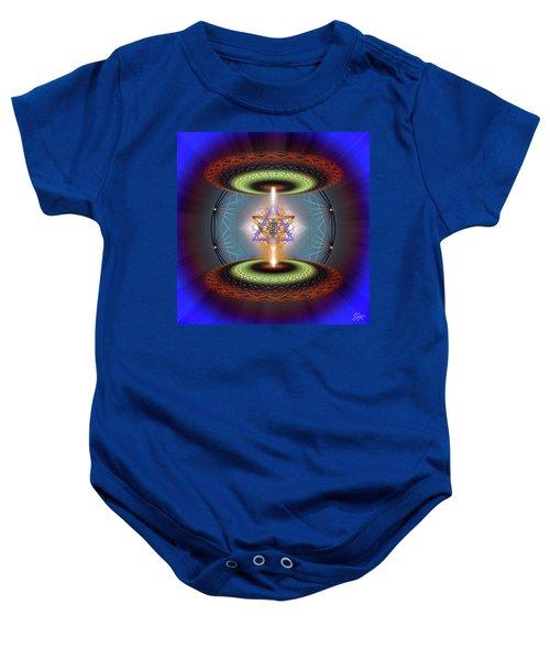 Sacred Geometry 718 Baby Onesie