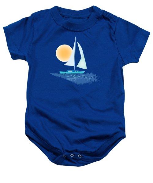 Sailing Day Baby Onesie