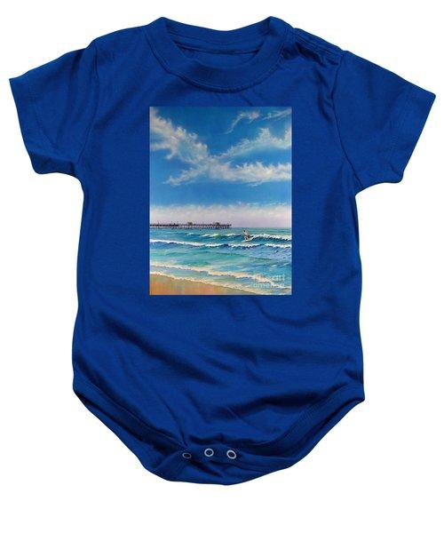 San Clemente Surf Baby Onesie