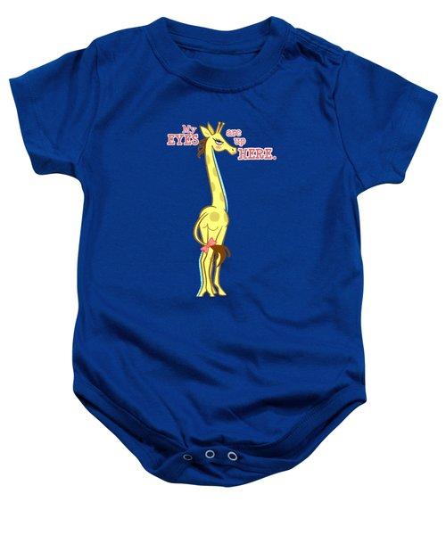Sassy Giraffe Baby Onesie by J L Meadows