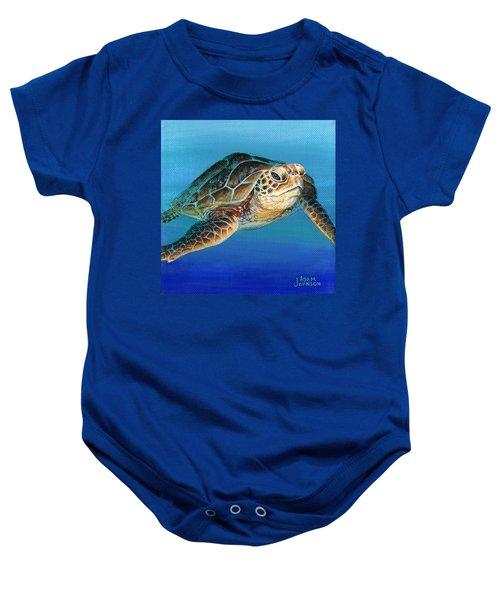 Sea Turtle 1 Of 3 Baby Onesie