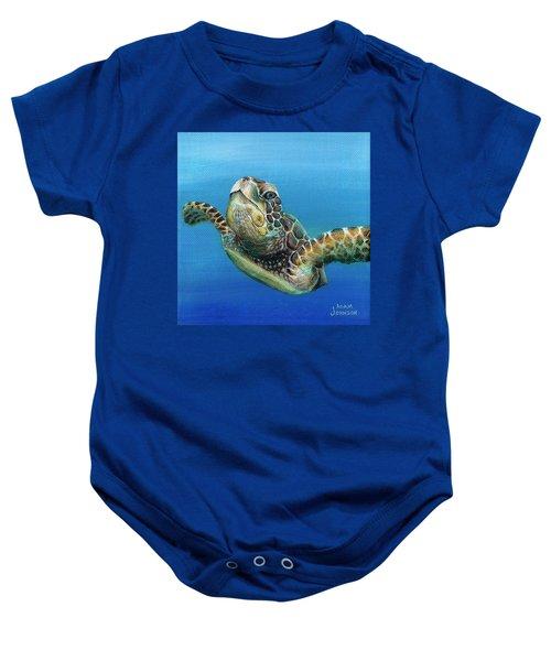 Sea Turtle 3 Of 3 Baby Onesie