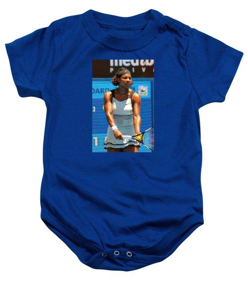 Serena Williams Baby Onesie by Andrei SKY