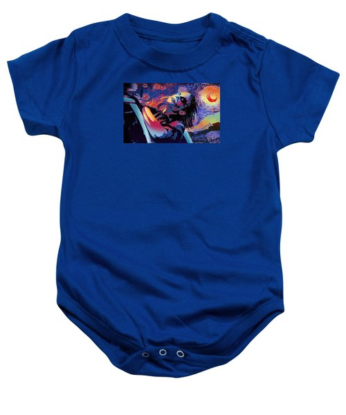 Serene Starry Night Baby Onesie by Surj LA