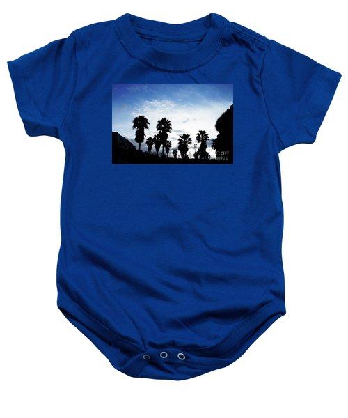 Silhouette In Tropea Baby Onesie