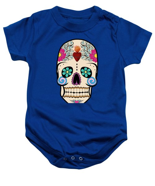 Skeleton Keyz Baby Onesie by LozMac