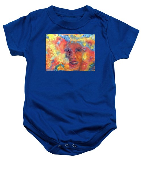 Smiling Muse No. 2 Baby Onesie