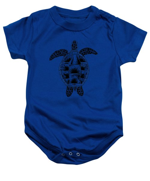 Soda Turtle Sea Turtle Great Tshirt Image Baby Onesie