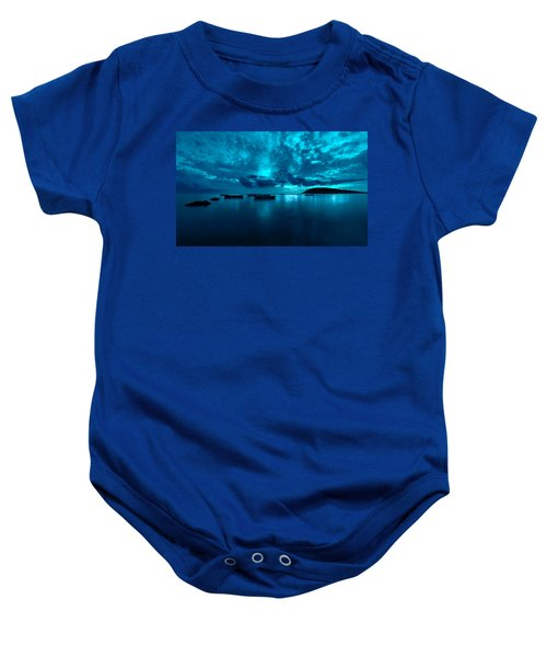 Soon The Night Shall Come Baby Onesie