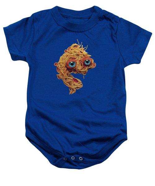 Spaghetti Face Baby Onesie