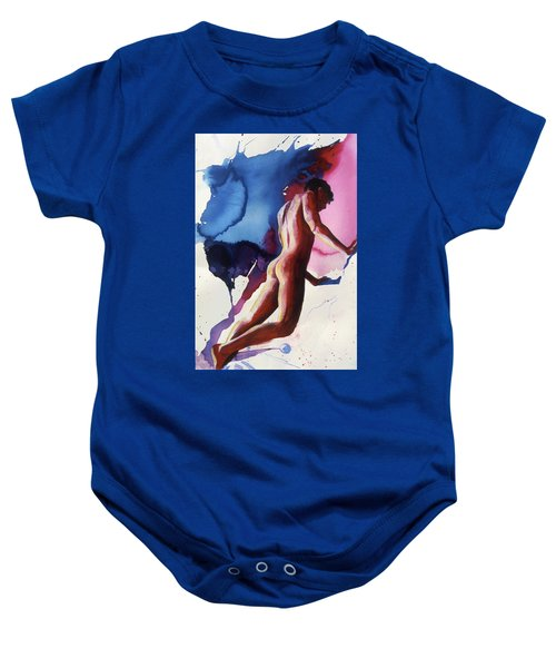 Splash Of Blue Baby Onesie