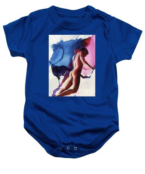 Splash Of Blue Baby Onesie