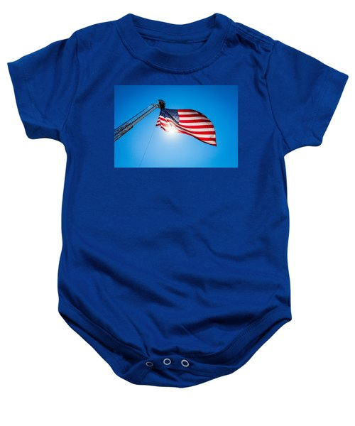 Stars And Stripes Forever Baby Onesie