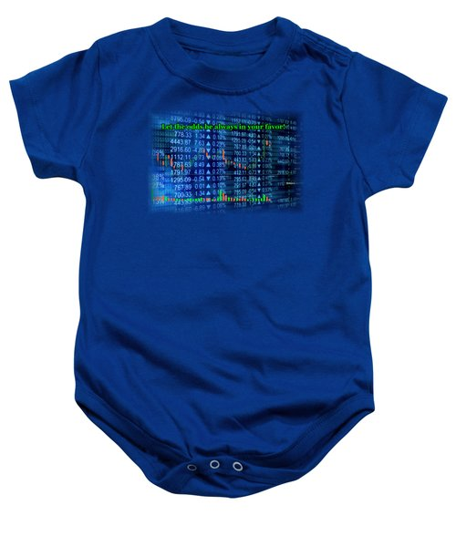 Stock Exchange Baby Onesie