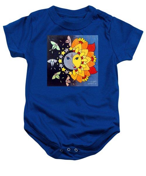 Sun And Moon Baby Onesie
