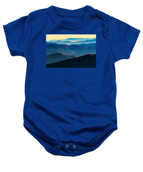 Sunrise In The Smokies Baby Onesie