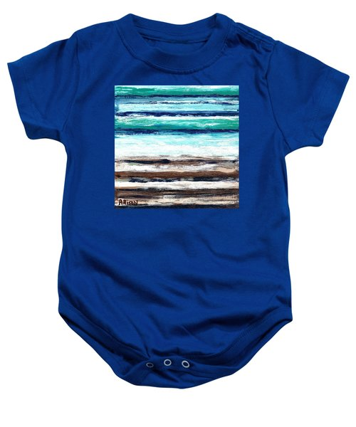 Surf And Turf Baby Onesie