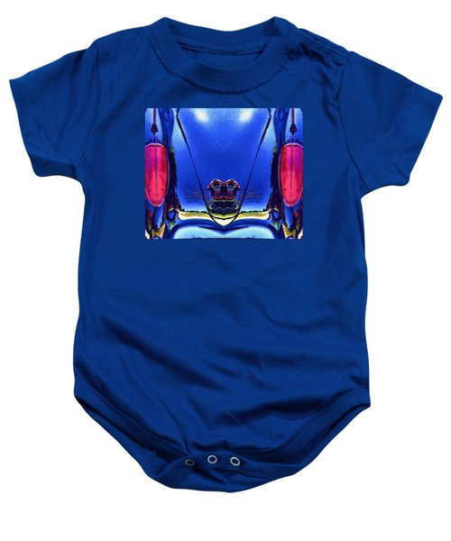 Tail Light Reflections On Venus Baby Onesie