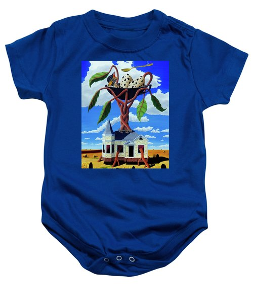Talk Of The Town Baby Onesie