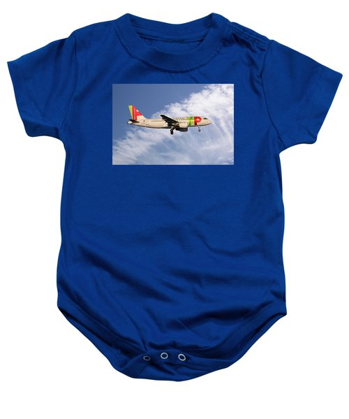 Tap Portugal Airbus A319-111 Baby Onesie