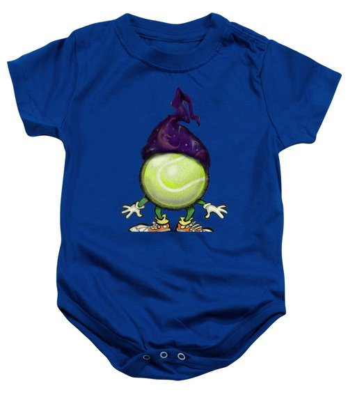 Tennis Wiz Baby Onesie by Kevin Middleton