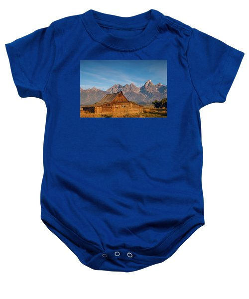 Teton Barn Baby Onesie