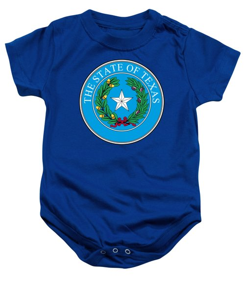Texas State Seal Baby Onesie