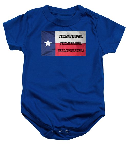 Texas Strong Baby Onesie