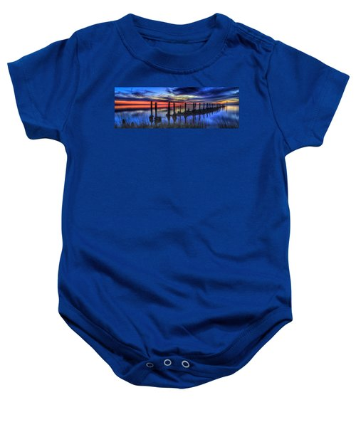 The Blue Hour Comes To St. Marks #2 Baby Onesie