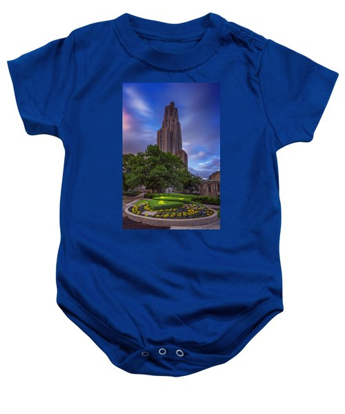 The Cathedral Of Learning Baby Onesie