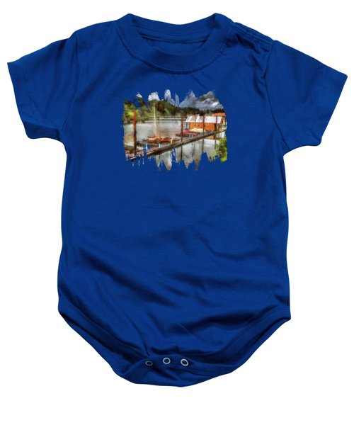 The Charming Port Of Toledo Baby Onesie