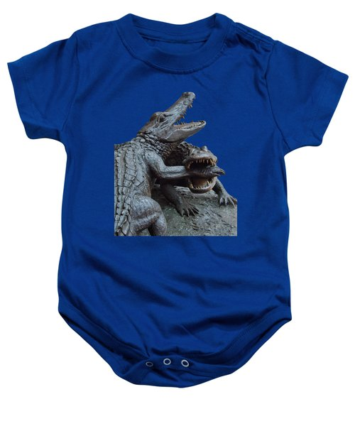 The Chomp Transparent For Customization Baby Onesie by D Hackett