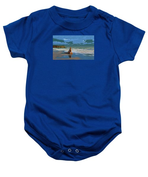 The Courtship Of Sand Baby Onesie
