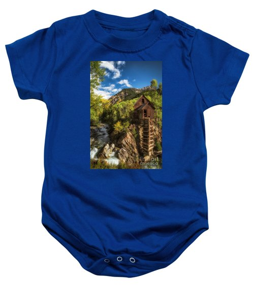 The Crystal Mill Baby Onesie