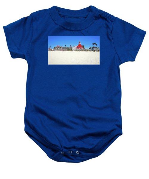 The Del Coronado Hotel San Diego California Baby Onesie
