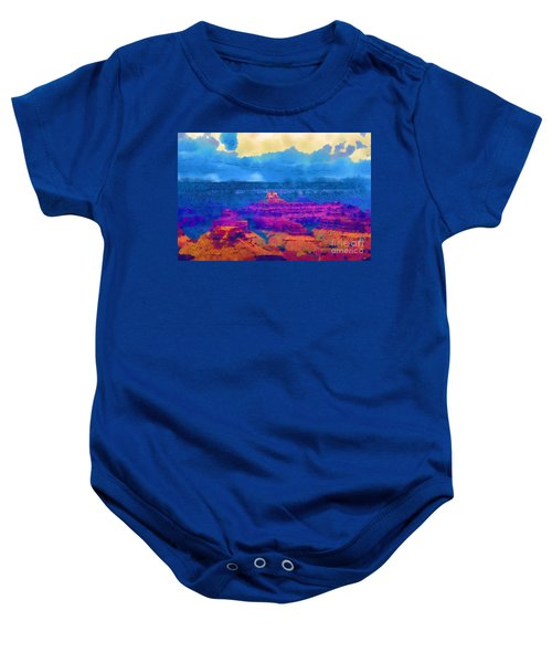 The Grand Canyon Alive In Color Baby Onesie