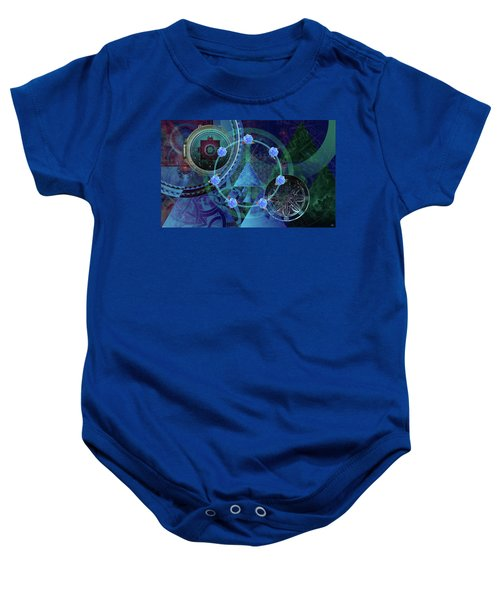 The Prism Of Time Baby Onesie