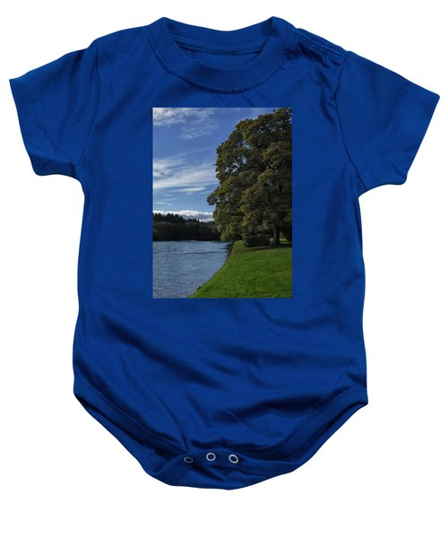 The Silvery Tay By Dunkeld Baby Onesie