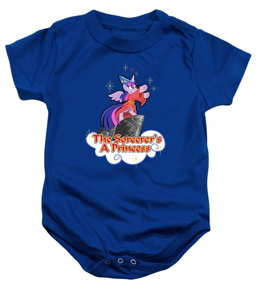 The Sorcerer's A Princess Baby Onesie by J L Meadows