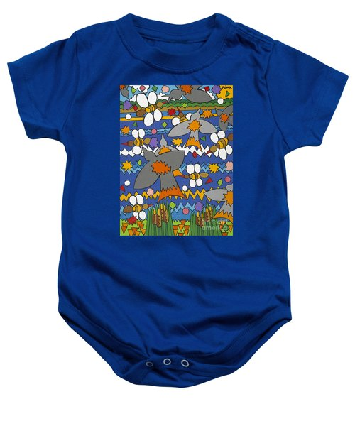 The Swallows Baby Onesie