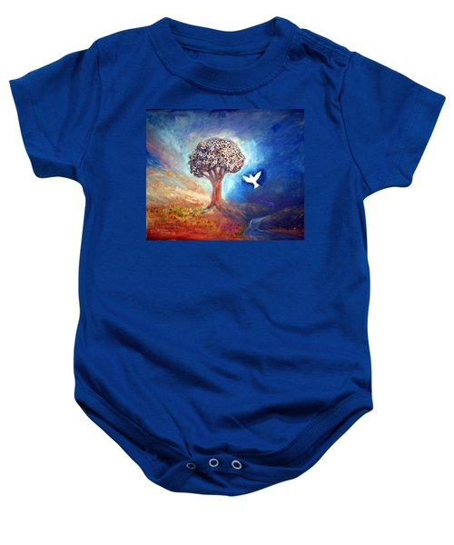 The Tree Baby Onesie by Winsome Gunning