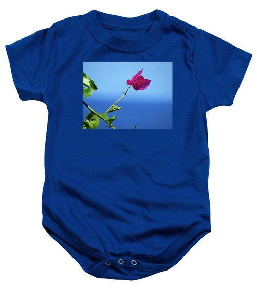 The Tropical Bloom Baby Onesie