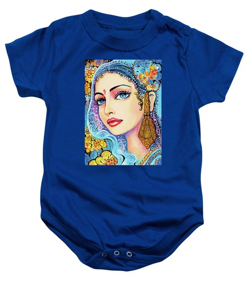 The Veil Of Aish Baby Onesie by Eva Campbell