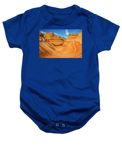 The Wave Baby Onesie