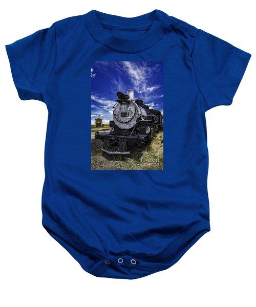 Train Kept A Rollin Baby Onesie