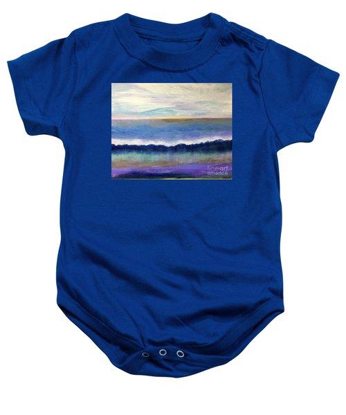 Tranquil Seas Baby Onesie