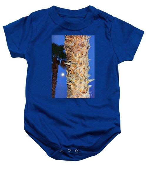 Trees Capture Sun Baby Onesie