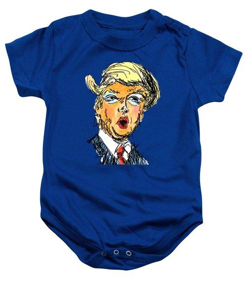 Trump Baby Onesie by Robert Yaeger