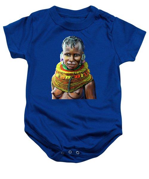 Turkana Girl Baby Onesie